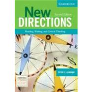 New Directions: Reading, Writing, and Critical Thinking by Peter S. Gardner, 9780521541725