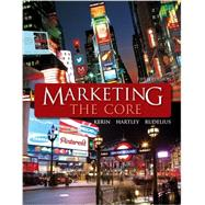 Marketing: The Core with ConnectPlus Access Card by Kerin, Roger; Hartley, Steven; Rudelius, William; Steffes, Erin, 9780077701727