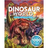 Dinosaur World Sticker and Activity Book by Little Bee Books, 9781499801729