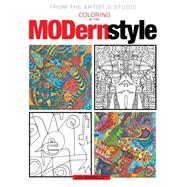 From the Artist's Studio Coloring in the Modern Style by Lott, Liza Gerassi, 9781942021735
