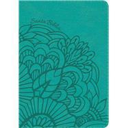 RVR 1960 Biblia Compacta Letra Grande Aqua, símil piel con índice by Unknown, 9781462791743