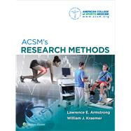 Acsm's Research Methods by ACSM, [none], 9781451191745