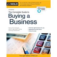 The Complete Guide to Buying a Business by Steingold, Fred S., 9781413321746