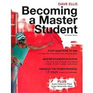 Becoming A Master Student by Ellis, Dave, 9781439081747
