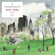 New York in Art 2017 Wall Calendar by Metropolitan Museum of Art, The, 9781419721748