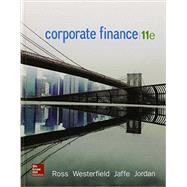 Corporate Finance by Ross, Stephen; Westerfield, Randolph; Jaffe, Jeffrey; Jordan, Bradford, 9780077861759