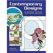 Contemporary Designs Stained Glass Pattern Book by Anna Croyle, 9780486471761