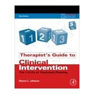 Therapist's Guide to Clinical Intervention by Johnson, Sharon L., 9780128111765