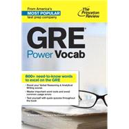 GRE Power Vocab by PRINCETON REVIEW, 9781101881767