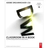 Adobe Dreamweaver CS5 Classroom in a Book by Adobe Creative Team, 9780321701770