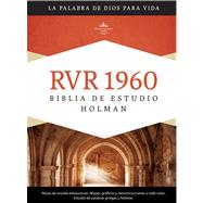 RVR 1960 Biblia de Estudio Holman, tapa dura by Unknown, 9781433601774