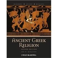 Ancient Greek Religion by Mikalson, Jon D., 9781405181778