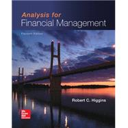 Analysis for Financial Management by Higgins, Robert, 9780077861780