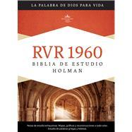 RVR 1960 Biblia de Estudio Holman, tapa dura con índice by Unknown, 9781433601781