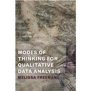 Modes of Thinking for Qualitative Data Analysis by Freeman; Melissa, 9781629581781