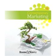 Contemporary Marketing by Boone, Louis E.; Kurtz, David L., 9781111221782