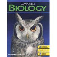 Modern Biology by Holt, Rinehart and Winston Staff, 9780030651786