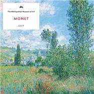 Monet 2017 Wall Calendar by Metropolitan Museum of Art, The, 9781419721786