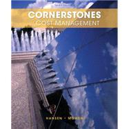 Cornerstones of Cost Management by Hansen, Don R.; Mowen, Maryanne M., 9781285751788
