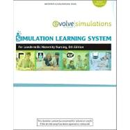 Simulation Learning System for Lowdermilk: Maternity Nursing (User Guide and Access Code)