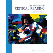 Introduction to Critical Reading by McCraney, Leah, 9780495801795