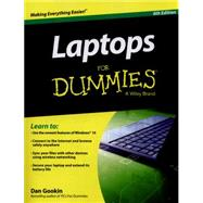Laptops for Dummies by Gookin, Dan, 9781119041801