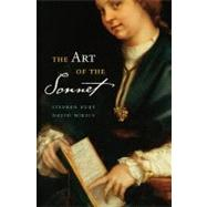 The Art of the Sonnet by Burt, Stephen; Mikics, David, 9780674061804