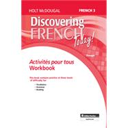 Discovering French Today: Activites pour tous Level 3 by HOLT MCDOUGAL, 9780547871806