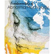 Loose-leaf Version for Fundamentals of Abnormal Psychology 8e & LaunchPad for Fundamentals of Abnormal Psychology 8e (6 month access) by Comer, Ronald J., 9781319061807