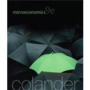 Microeconomics by Colander, David, 9780077501808