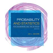 Probability and Statistics for Engineering and the Sciences by Devore, Jay L., 9781305251809