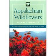 Appalachian Wildflowers by Hemmerly, Thomas E., 9780820321813