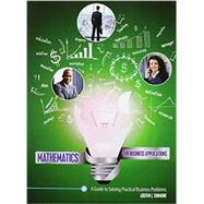 Mathematics for Business Applications by Sunmonu, Adefemi, 9781465291813