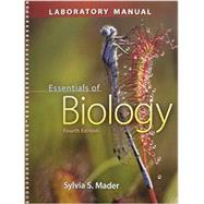 Lab Manual  for Essentials of Biology by Mader, Sylvia, 9780077681814