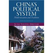 China's Political System by Dreyer; June Teufel, 9780205981816