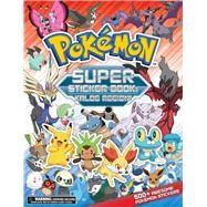 Pokemon Super Sticker Book by Pokemon Company International, 9781604381818