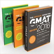 The Official Guide for GMAT 2016 / The Official Guide for GMAT Verbal Review 2016 /  Official Guide for GMAT Quantitative Review 2016 by John Wiley & Sons, 9781119101819