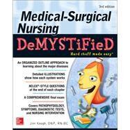 Medical-Surgical Nursing Demystified, Third Edition by Keogh, Jim, 9781259861819
