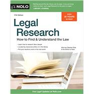 Legal Research by Elias, Stephen; Nolo, 9781413321821
