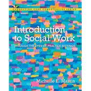 Introduction to Social Work Through the Eyes of Practice Settings by Martin, Michelle E., 9780205681822