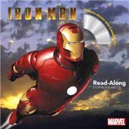 Iron Man Read-Along Storybook and CD by Marvel Book Group, 9781484751824