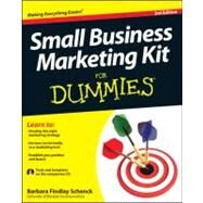 Small Business Marketing Kit for Dummies by Schenck, Barbara Findlay, 9781118311837