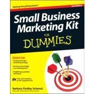 Small Business Marketing Kit for Dummies by Schenck, Barbara Findlay, 9781118311837