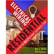Electrical Wiring Residential by Mullin, Ray C.; Simmons, Phil, 9781337101837