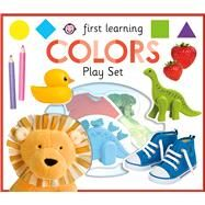 First Learning COLORS play set by Priddy, Roger, 9780312521844