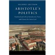 Aristotle's Politics : Second Edition by Aristotle; Lord, Carnes, 9780226921846