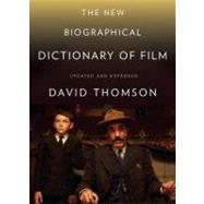 The New Biographical Dictionary of Film by THOMSON, DAVID, 9780375711848