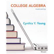 College Algebra by Young, Cynthia Y., 9781119001850