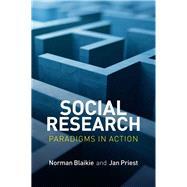 Social Research by Blaikie, Norman; Priest, Jan, 9780745671857