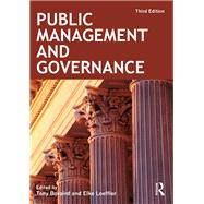 Public Management and Governance by Bovaird; Tony, 9780415501859